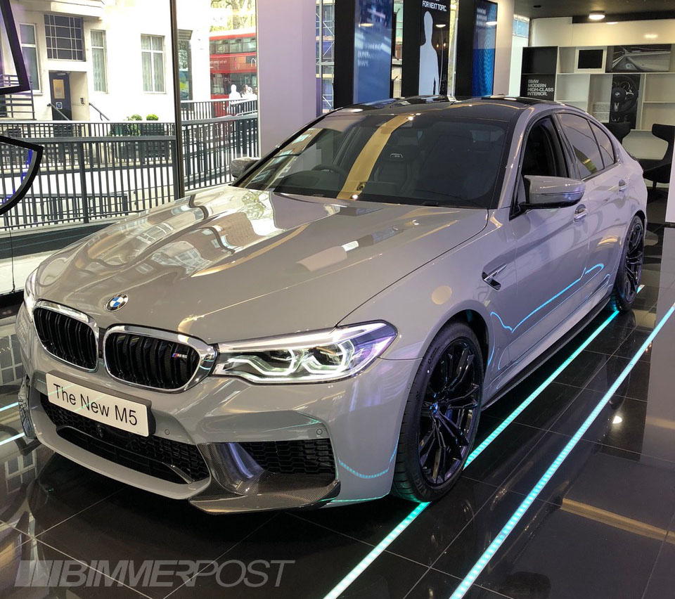 Nardo Grey F90 M5 with Performance Parts - M5POST - BMW M5