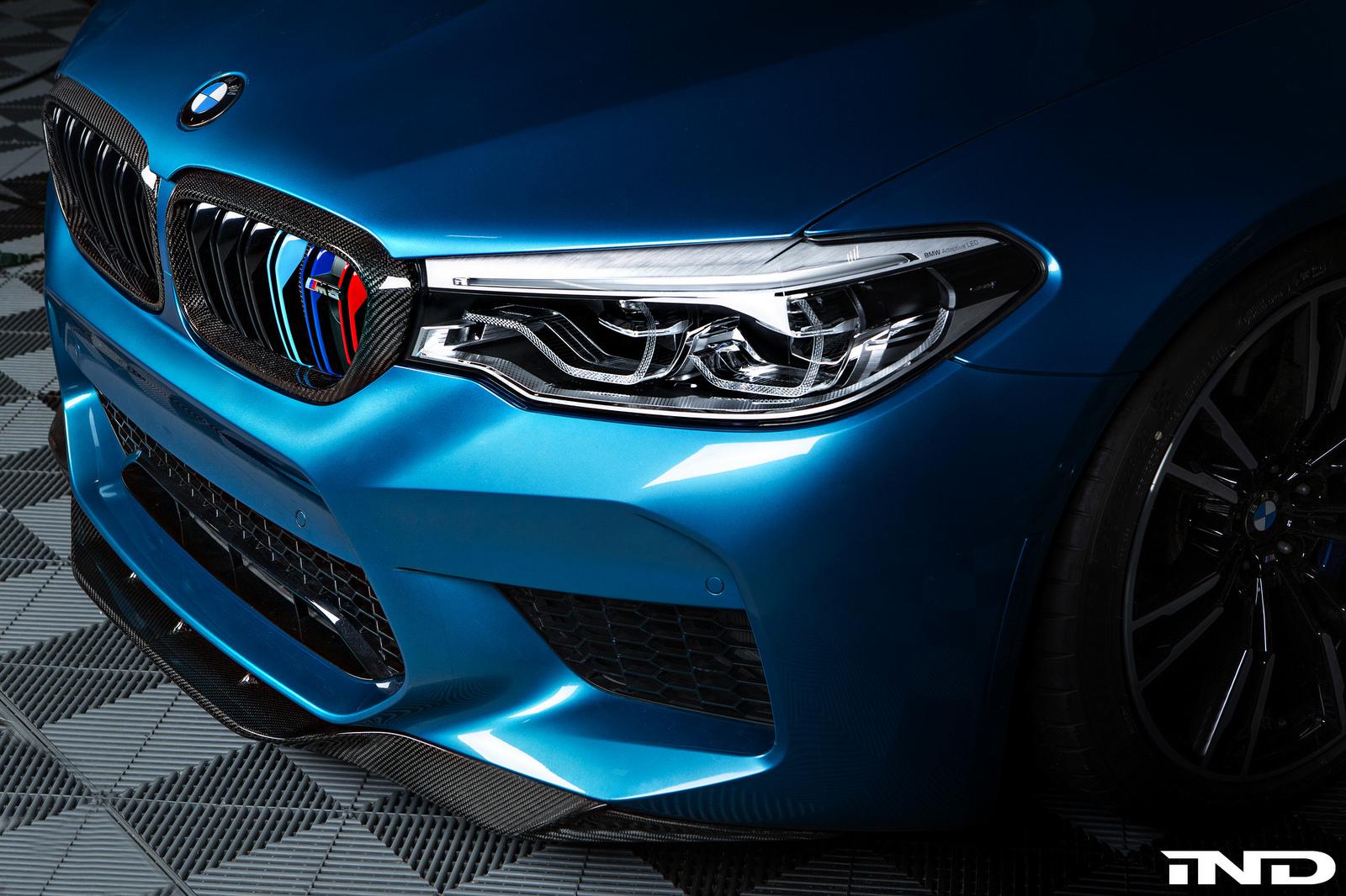 RKP Front lip installed on F90 M5 - M5POST - BMW M5 Forum - F90