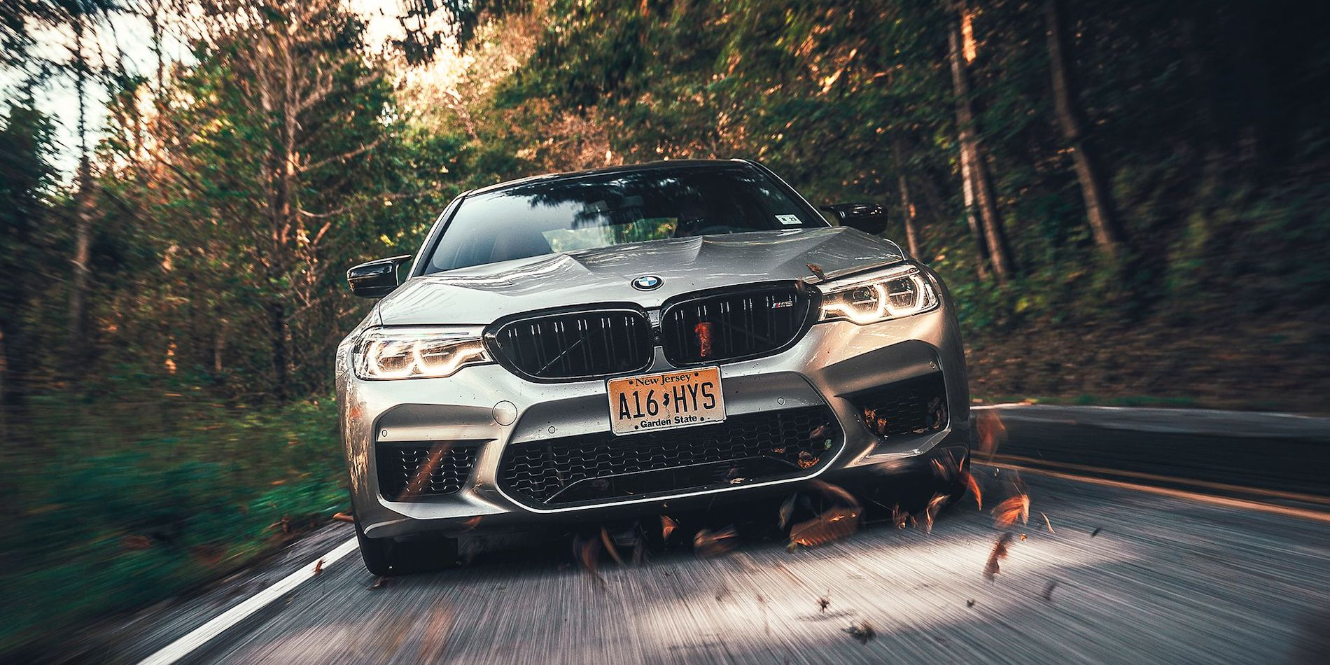 BMW M5 Competition results from Road & Track 2019