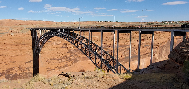 Name:  Glenn Canyon Dam Bridge, US Hwy 89 Utah.jpg Views: 9682 Size:  465.2 KB