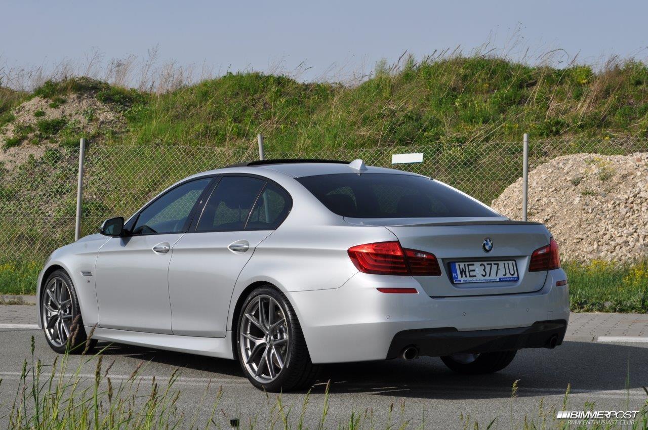 BMW 5 Series bmw 535 diesel matowi's 2015 F10 535d x-drive M-Pckg (European version ...