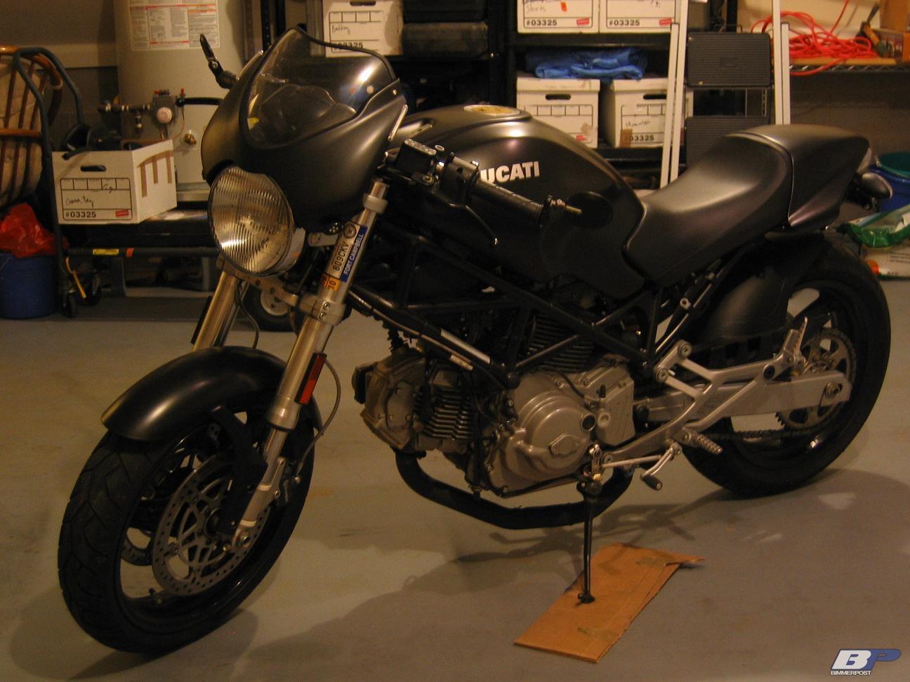 Ht4mds 2005 Ducati Monster Dark 600 Bimmerpost Garage